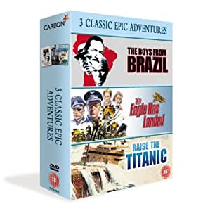 The Boys From Brazil/The Eagle Has Landed/Raise The Titanic [DVD] [1977]