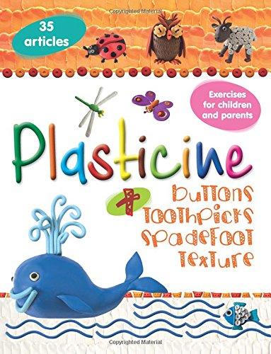 Plasticine + buttons, toothpicks, spadefoot, texture