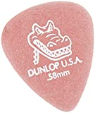 Dunlop 417P.58 Gator Grip Standard Flat Picks - 12 pack