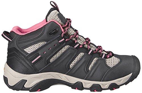 Keen  KOVEN MID WP W, Chaussures de randonnée femme Noir - Schwarz (RAVEN/SLATE ROSE)
