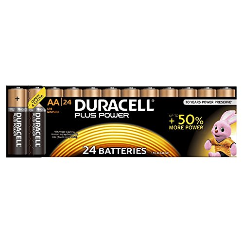 Duracell Plus Power Batterie AA (MN1500/LR6) 24 Pack