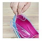 Lalang 1 Paar Transparente Fersenkissen Schuheinlagen High Heel Pads - Soforthilfe bei Fußschmerzen und brennendem Ballen