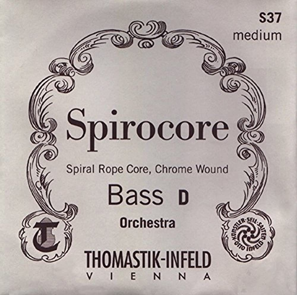 Thomastik Saiten für Kontrabass Spirocore Spiralkern Solostimmung. 3/4; A x