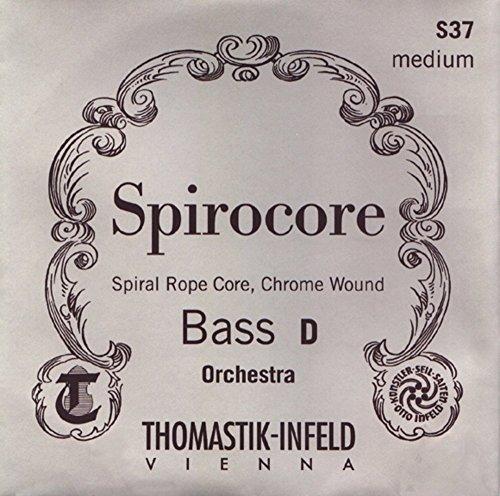 Thomastik-Infeld 3886Spirocore, Bass Saiten, komplett-Set, 3/4Größe, Solo Tuning