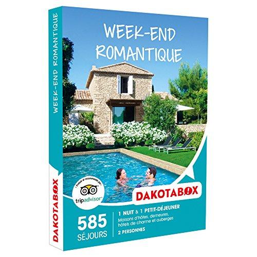 DAKOTABOX - Coffret Cadeau - WEEK-END ROMANTIQUE - maisons d'hôtes, demeures,...