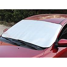 Eximtrade Auto Pieghevole Parasole Neve Ghiaccio Copertina Deflettore Parabrezza Finestra Calore UV Raggi Riflettore Protezione per Auto Camion SUV