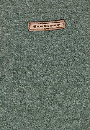 Naketano Female Shortsleeve Hoch Die Hände II Heritage Pine Green Melange