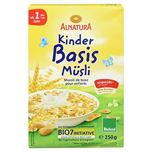 Alnatura Bio Kinder-Basis-Müsli, 6er Pack (6 x
