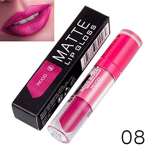Yazidan Miss Rose Flüssigkeit Lippenstift Feuchtigkeitscreme SAMT Lippenstift Kosmetik Schönheit...