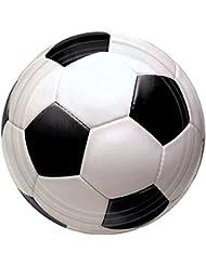 Amscan International Assiettes Championnat Football 17,7cm
