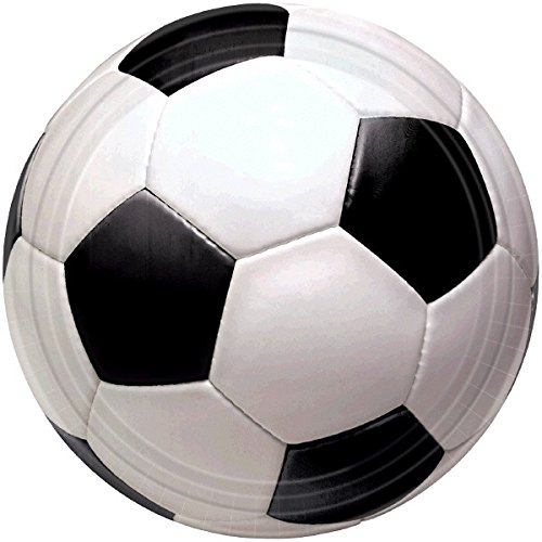 Amscan International Assiettes Championnat Football 17,7 cm