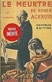 """Afficher """"Le Meurtre de Roger Ackroyd"""""""