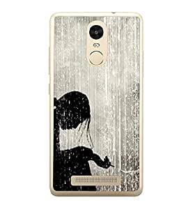 PrintVisa Disappointing Expression High Gloss Designer Back Case Cover for Xiaomi Redmi Note 3 :: Xiaomi Redmi Note 3 Pro :: Xiaomi Redmi Note 3 MediaTek