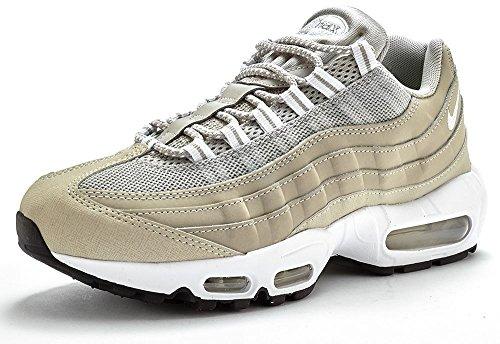 Nike - AIR MAX 95 - Runner - Low Top Sneaker - Grau / Weiß