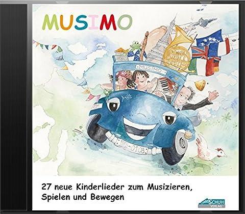 Mein MUSIMO - Lieder-CD: Die fröhliche Liedersammlung aus MUSIMO 1 und 2 - zum Singen, Bewegen und Spielen. (Mein MUSIMO / Rhythmische Musikerziehung ... in Musikschule und