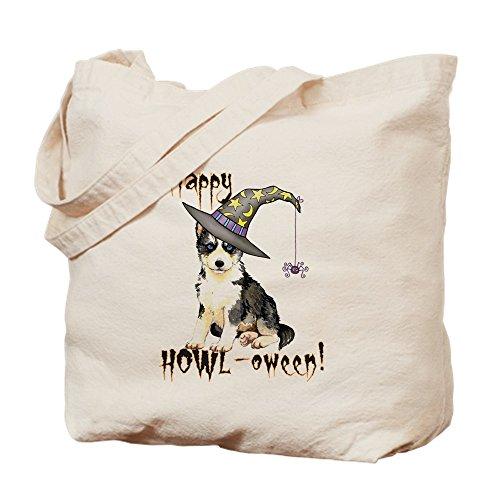 CafePress Halloween Husky–Leinwand Natur Tasche, Reinigungstuch Einkaufstasche, canvas, khaki, S