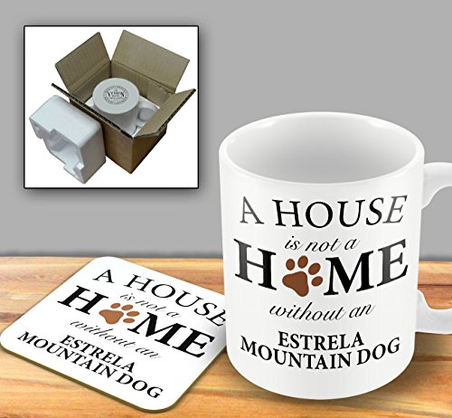 a-house-is-not-a-home-without-an-estrela-mountain-dog-mug-and-coaster-set