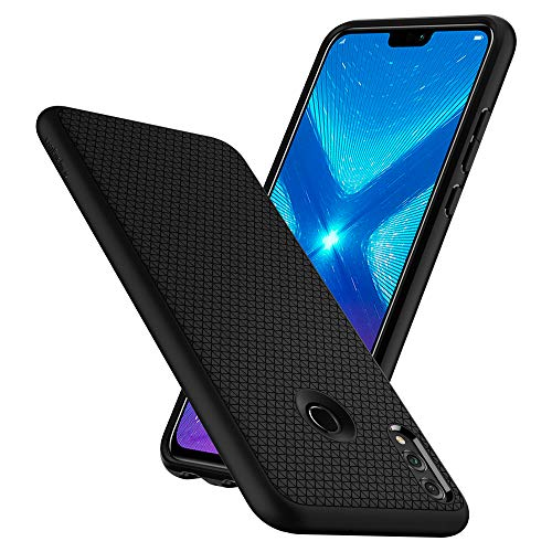 Spigen Coque Honor 8X [Liquid Air] TPU Souple, Flexible, Résistante, Anti-Choc, Air Cushion, Coque Etui Housse pour Honor 8X (L27CS25447)