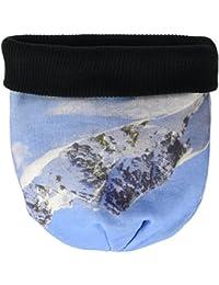 James & Nicholson Unisex Strickmütze Sublimation Beanie Mountain, Mehrfarbig (Blue/Black), One Size