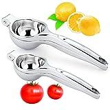 Prensa manual de limón Prensa de acero inoxidable para limón, tomate y otros extractos de jugo de fruta Arma mágica