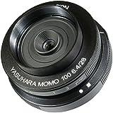 Yasuhara MO100M 28-28mm f/6.4-22 Fixed Prime MoMo 100 Soft Focus Lens for Micro 4/3, Black