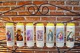 Paraclet Kerzen - Angebot (1 Geschenkkerzen verziert 2. Stumpen Kerze ua unverziert 3. Grablicht bzw. Grablichter in div Größen/Formen 4. Ewiglicht ... Kerzengiessen 7. Opferlichter für Kirchen)