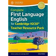 Complete First Language English for Cambridge Igcserg Teacher Resource Pack (Teachers Resource Kit)
