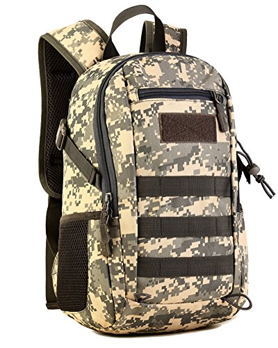 Militare tattico zaino sacchetto esterno borsa a tracolla per escursionismo bicicletta escursione di campeggio one size acu