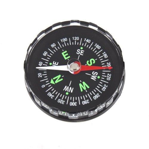 SODIAL(R) Schwarz oel Gefuellt Kompass Hervorragend Geeignet fuer Wandern und Camping