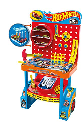 Bildo 9692 Hot Wheels Garage - Banco de Herramientas