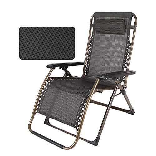 Deck-kissen-lagerung (Liegestuhl Heavy Duty Patio Außen Lounger Chair Verstellbare Liege Mit Kopfstütze Suppor, Beweglicher Reclining Für Yard Porch, Unterstützung 200kg (Farbe : Style 2))