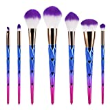 Best BESTOPE Powder Foundation - Makeup Brushes BESTOPE 7 PCS Professional Make Up Review
