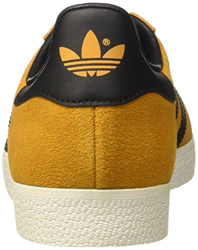 adidas Gazelle, Sneakers Basses Homme Jaune (Tactile Yellow F17/core Black/gold Met.)