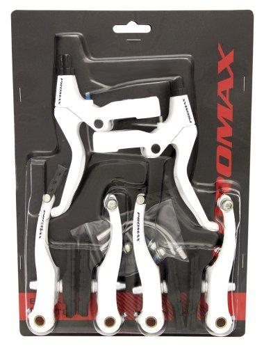promax-set-freni-bici-argento-silber