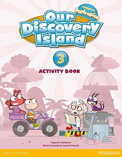 Our Discovery Island 3 Activity Book Pack - 9788498377828 por Sagrario Salaberri