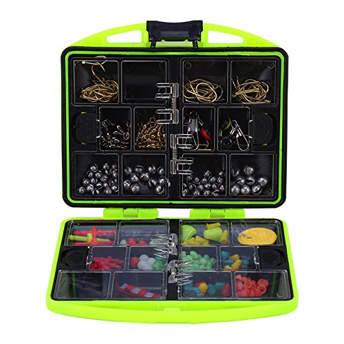Alomejor Pêche Accessoires Box, 24Compartiments...