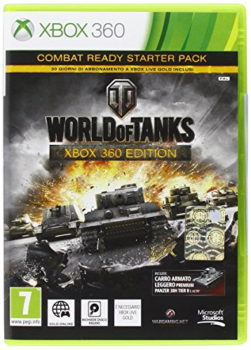 WORLD OF TANKS-X360 XBOX 360