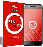 nandu I ZenGlass Flexible Glas-Folie für HTC One A9 Panzerfolie I Display-Schutzfolie 9H I (Kleiner Als Das Gewölbte Display)