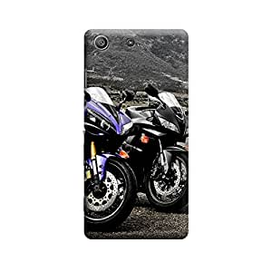 CaseLite Premium Printed Mobile Back Case Cover With Full protection For Sony Xperia M5 (Designer Case)