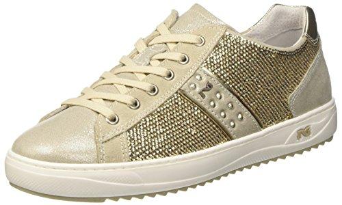Nero Giardini P717242d, Sneaker a Collo Basso Donna Beige (505)