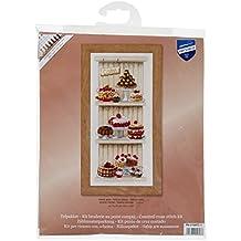Vervaco PN-0150672 tela aida para cocinas de cupcakes