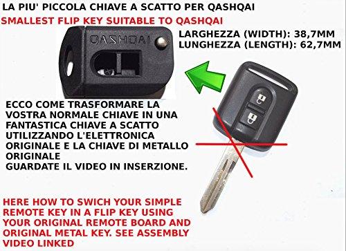 gm-production-qqfk2-cn-chiave-piu-piccola-al-mondo-trasformata-retrattile-per-telecomando-nissan-usa