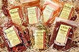 Ideen für Geschenke Geschenkideen für Genießer - Genuss-Box Geschenksets Gewürze, scharfe Momente- mit Chilli, 7Tlg.