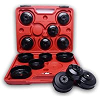 fcfa821fe24 Kit de 15 casquillos cojinetes llaves del coche filtros aceite