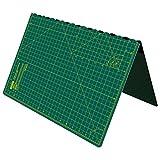 ANSIO A2 pieghevole auto guarigione stuoia di taglio Imperiale 22,5 pollici x 17 pollici-Verde