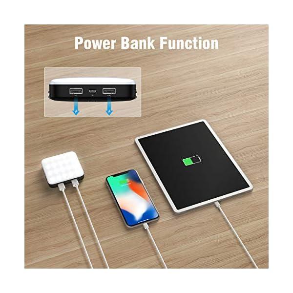 FLOUREON Caricabatterie Portatile, PowerBank 20000mAh, Batteria Esterna con 4 Porte USB di Uscita 4A ad Alta velocità e… 3 spesavip