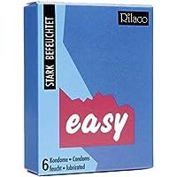 RILACO Kondome Easy 6 Stück, 1er Pack (1 x 6 Stück) preisvergleich bei billige-tabletten.eu