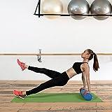 POWRX Yoga-Rolle Eps Material / Pilates-Rolle / Schaumstoff-Rolle / Foam-Roller Faszienrolle (90 x 15 cm) - 5