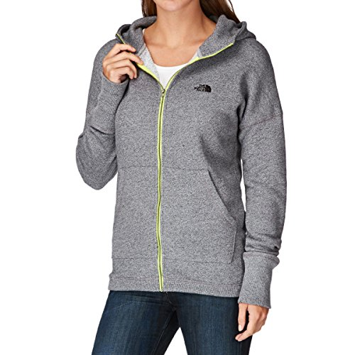 The North Face W Full Zip Jacket Heather Grey