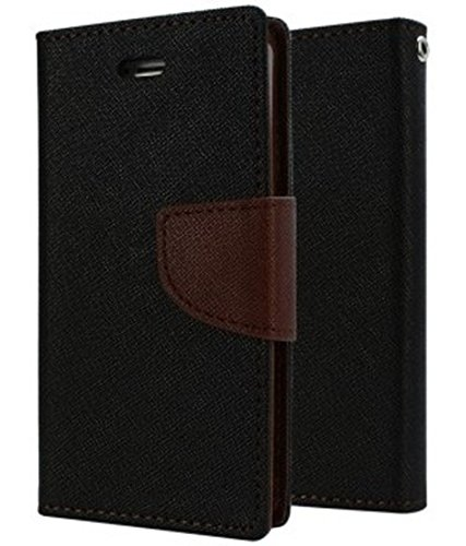 AMERICHOME Artificial leather FLIP COVER FOR Lenovo S 850(BROWN)  available at amazon for Rs.299